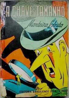 Livro Monteiro Lobato - A chave do tamanho A